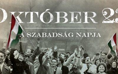 FESTA DELLA LIBERAZIONE IN UNGHERIA  23 DI OTTOBRE 1956