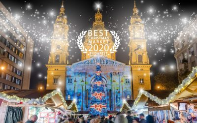 ONE OF THE LARGEST CHRISTMAS MARKETS IN BUDAPEST, CALLED ADVENT FEAST AT THE BASILICA HAS BEEN VOTED THE BEST CHRISTMAS MARKET 2020 AT A POLL ORGANIZED BY EUROPEAN BEST DESTINATIONS.